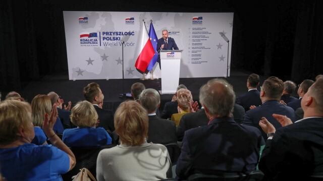 Wystąpienie Grzegorza Schetyny w Białymstoku