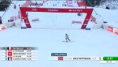 Kristoffersen liderem po 1. przejeździe slalomu w Chamonix