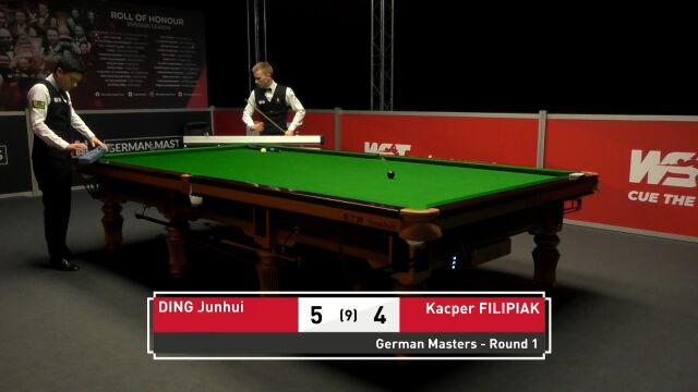 Filipiak przegrał z Dingiem w 1. rundzie German Masters