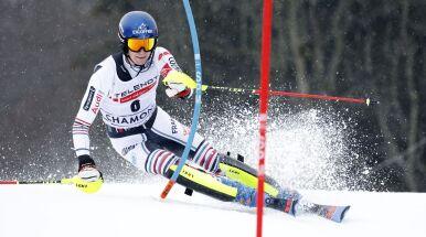 Noel ponownie najlepszy w slalomie w Chamonix