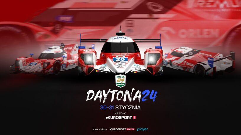 Wyścig Daytona24 z udziałem Roberta Kubicy na żywo w Eurosporcie 2