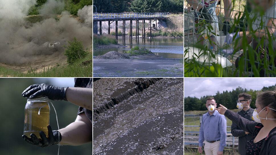 """""""Wody skażone trotylem"""" - pierwsza część reportażu"""