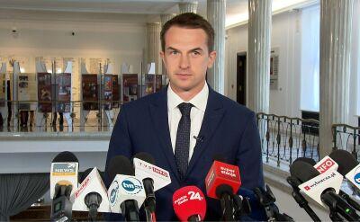 Szłapka o zawiadomieniu Nowoczesnej w sprawie premiera