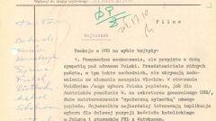 Depesza Romualda Spasowskiego do Warszawy z informacją o wywiadzie udzielonym mediom amerykańskim, 16 października 1978 r.