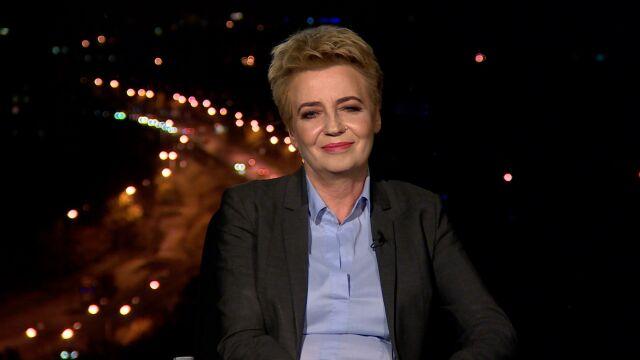 """Hanna Zdanowska była gościem """"Faktów po Faktach"""""""