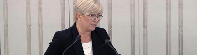 Przyłębska: sędziowie uzurpują sobie prawo nieprzewidziane w polskiej konstytucji