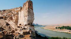 Zabytkowe miasto Hasankeyf nieopodal Diyarbakir