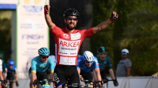 Nacer Bouhanni zwycięzcą etapu i nowym liderem Saudi Tour