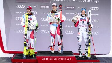 Loic Meillard wywalczył w Chamonix Małą Kryształową Kulę