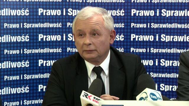 Jarosław Kaczński o wyborze Donalda Tuska