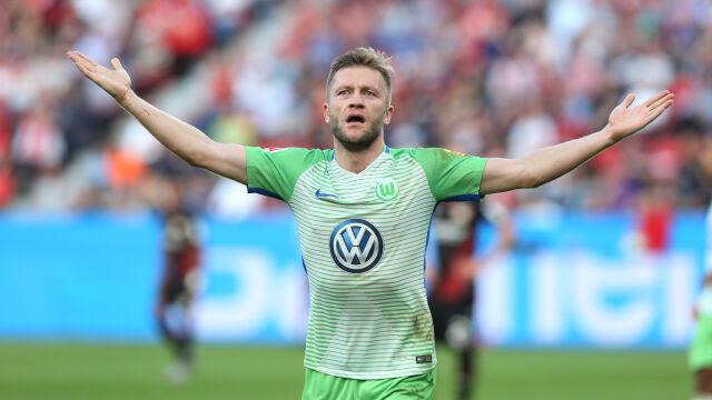 """""""Kicker"""": Błaszczykowski odchodzi z Wolfsburga. Nie odgrywa już żadnej roli"""