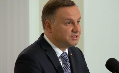 Prezydent Andrzej Duda krytykuje Trybunał Sprawiedliwości Unii