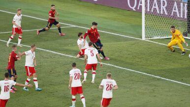 Najpierw spalony, za chwilę gol dla Hiszpanii