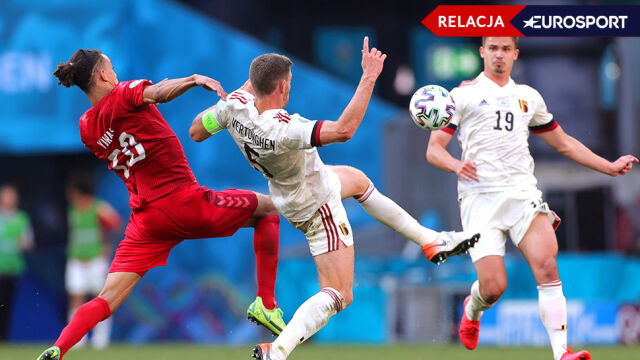 Dania - Belgia na Euro 2020 [RELACJA]