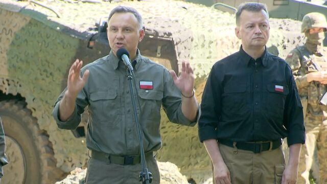Andrzej Duda o obronie podczas wojny