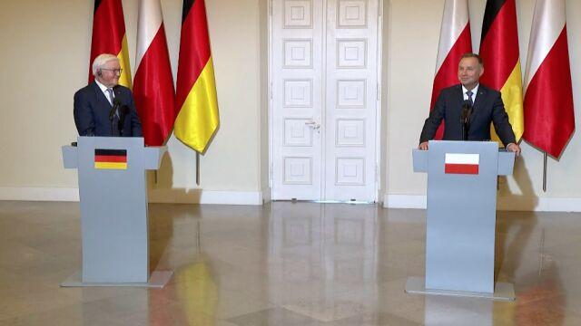Prezydent Niemiec Frank-Walter Steinmeier w Polsce