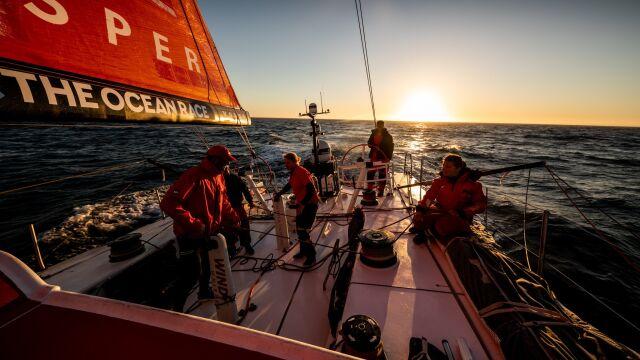 Podium polskiej załogi w regatach The Ocean Race Europe