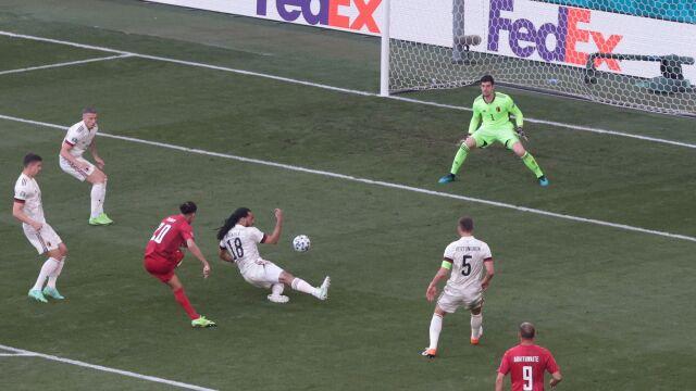 Duńczycy nie chcieli czekać. Drugi najszybszy gol w historii Euro