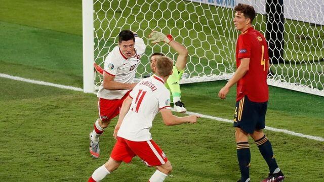 Technologia pomogła Hiszpanom, nam Lewandowski. Tak padały bramki w meczu Polaków