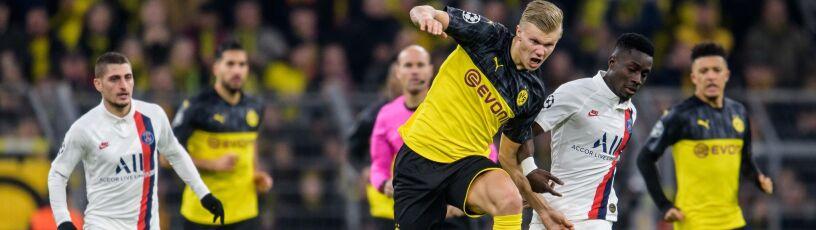 Gol Neymara na nic, Borussia miała Haalanda. Niemiecki klub bliżej awansu