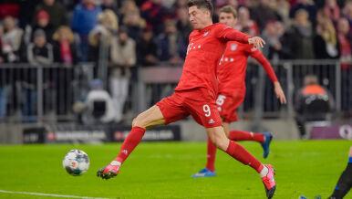 """Kolega podawał, """"Lewy"""" kończył. Tak dwa razy uratował Bayern"""