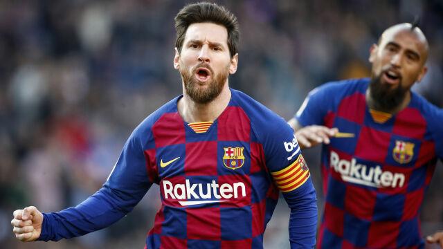 Pięć goli Barcelony, cztery Messiego. Odblokował się w wielkim stylu