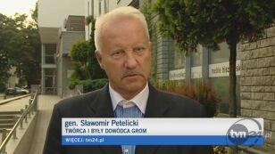 Gen. Petelicki krytykuje min. Klicha (TVN24)