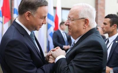 """Prezydent Duda: spotykamy się, by powiedzieć """"nigdy więcej"""""""