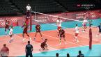 Tokio. Polska – Wenezuela 2. set (5:1)