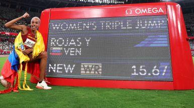 Jest nowy rekord świata w trójskoku. Niesamowita Wenezuelka