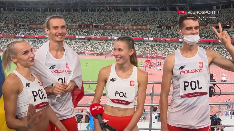 """Polska sztafeta po wielkim zwycięstwie. """"Jesteśmy w ogromnym szoku"""""""