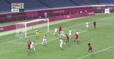 Tokio. Hiszpania-Argentyna Gol na 1:0