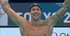 Tokio. Dressel zdobył złoty medal w pływaniu na 100 m st. dowolnym mężczyzn