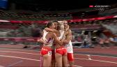 Tokio. Polska mistrzem olimpijskim w sztafecie mieszanej 4x400 m