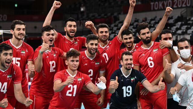 Zaskoczyli Polaków, teraz dali lekcję siatkówki. Iran z drugim zwycięstwem w Tokio