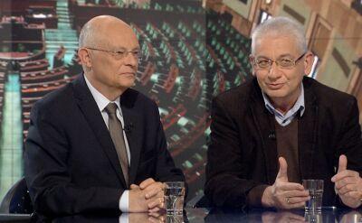 """Marek Borowski i Ludwik Dorn w """"""""Faktach po Faktach"""" o TK i Komisji Weneckiej"""