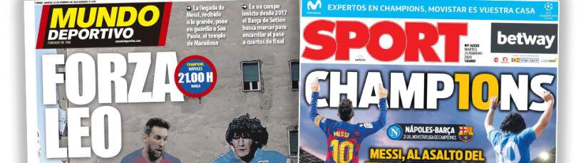 Messi pierwszy raz w Neapolu. Chce zdobyć świątynię Maradony