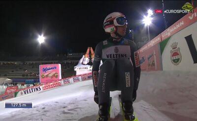 Skok Stocha z 2. serii piątkowego konkursu w Lahti
