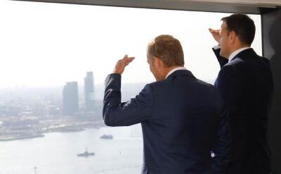 Donald Tusk spotkał się z z premierami Irlandii i Wielkiej Brytanii - Leo Varadkarem i Borisem Johnsonem