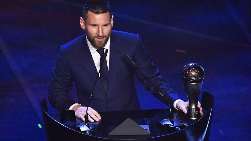 Do czterech razy sztuka. Messi w końcu najlepszym piłkarzem FIFA