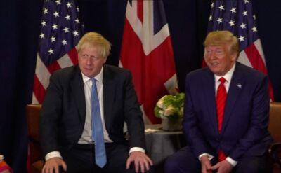 Johnson i Trump spotkali się w Nowym Jorku