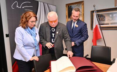 Lech Wałęsa: Kidawa-Błońska może liczyć na moje całkowite wsparcie