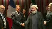 Prezydenci Francji i Iranu spotkali się w Nowym Jorku