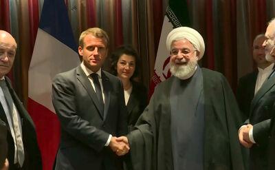 Prezydenci Francji i Iranu spotkali się we wrześniu w Nowym Jorku