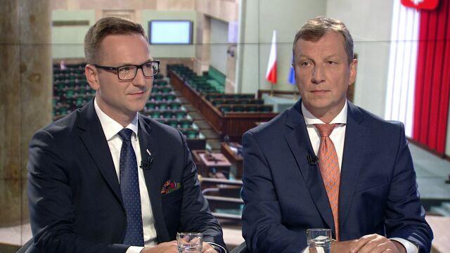 """Waldemar Buda i Andrzej Halicki byli gośćmi """"Faktów po Faktach"""""""