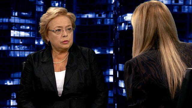 """Małgorzata Gersdorf w """"Kropce nad i"""""""