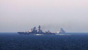 Rosjanie gromadzą okręty u wybrzeży Syrii.