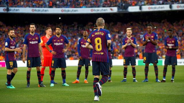 Ostatni raz Iniesty. Barcelona pożegnała legendę