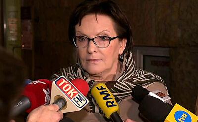 """Kopacz chce być przewodniczącą PO. """"Oczywiście, będą wybory"""""""