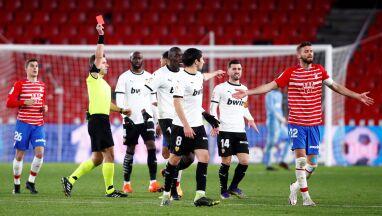 Czerwony mecz w Hiszpanii. Trzy wykluczenia w sześć minut